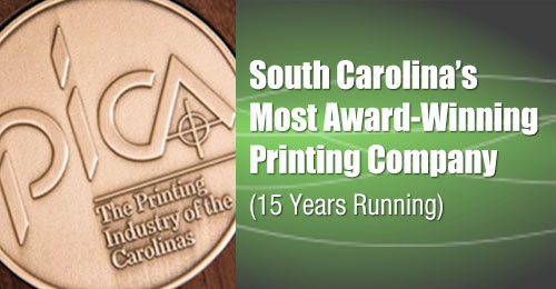 South Carolina's Most Award-Winning Printing Company